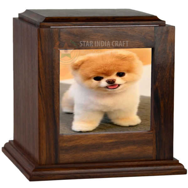 Handmade Wooden Cremation Urn for Ashes - Rosewood Dog Urn for Pets | Photo  Box Keepsake Box Urn for Human Ashes - Urns for Cats  Wooden Box